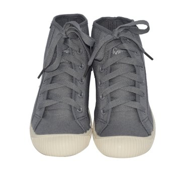 VISASTAR V-557 Unisex Casual High Cut Shoes(Gray) - 5