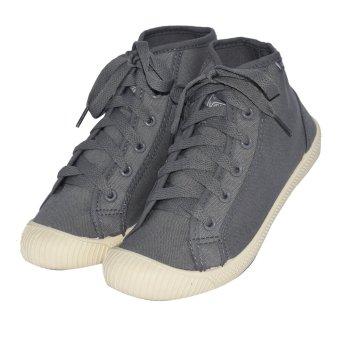 VISASTAR V-557 Unisex Casual High Cut Shoes(Gray) - 3
