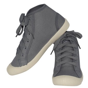 VISASTAR V-557 Unisex Casual High Cut Shoes(Gray) - 4