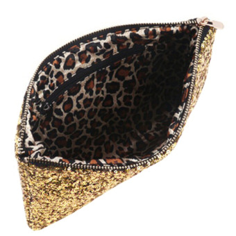 Vococal Bling Sequins Top-Handle Bag (Gold) - picture 2