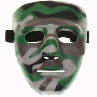 Vococal Plastic Mask (Camouflage)