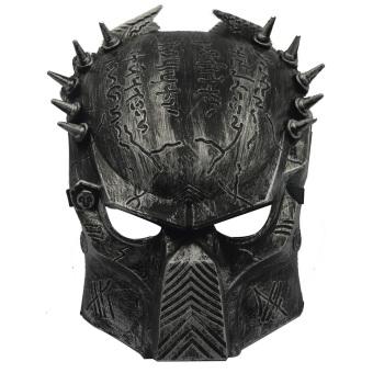 Vococal Plastic Warrior Mask (Black)