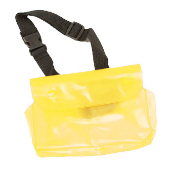 Vococal Waterproof Transparent Waist Bag (Yellow)
