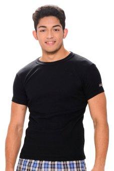 Walker Bodyfit Round Neck T-Shirt (Black)