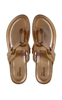 Walton T-Strap LS-855 Sandals (Tan)
