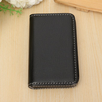 Price waterproof business id credit card wallet holder aluminum waterproof business id credit card wallet holder aluminum metal pocket case box black intl reheart Gallery