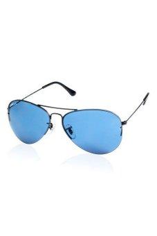 Wayth Monel Alloy Frame Driving Glasses Sunglasses (Black)