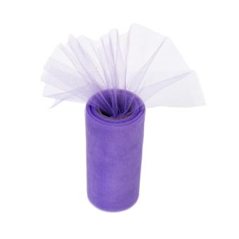 Wedding Bow Fabric Tulle Roll (Light Purple)