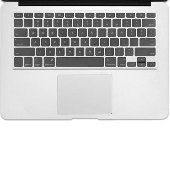Welink Fashion Silicone US Keyboard Cover Waterproof KeyboardProtector Skin For Apple Macbook Air 11 Inch (Transparent)