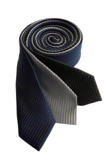 Well Suited Solid Stripe Slim Necktie Combo 1