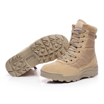 Winter Men Military Boots Special Force Tactical Desert Combat Boats Outdoor Hiking Shoes - intl - 4