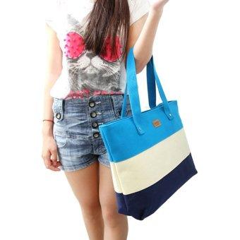 Women Canvas Handbags Shoulder Messenger Bags Multicolor - picture 2