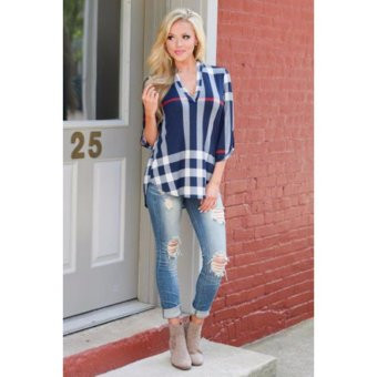 Women Fashion Tops Blouses Shirts - intl(Int:S)