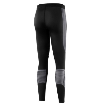 Women Jogging Compression Leggings Baselayer Cool Dry SportsRunning Tights Fitness Gym Pants Trousers - grey - intl - 5