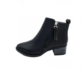 Women Shoes Vintage Fashion Ankle Boots Women Boots Side Zipper Shoes - intl - 2