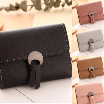 Women Simple Three Folded Coin Purse Small Wallet Pocket Credit Cards Organizer - intl - 4