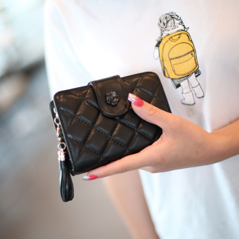 Women's Korean-style Quilted Clutch