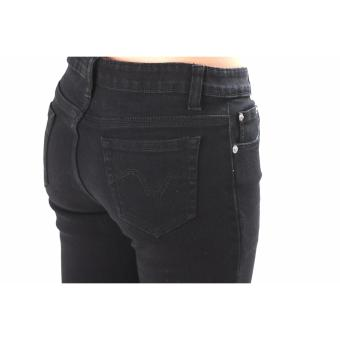 Women's Max Shape Black Skinny Jeans - 4