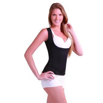 Women's Slimming Vest Hot Sweat Body Shaper Shirt for Weight Loss Tank Top Neoprene Vest Redu Tops - intl - 3