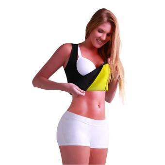 Women's Slimming Vest Hot Sweat Body Shaper Shirt for Weight Loss Tank Top Neoprene Vest Redu Tops - intl - 2