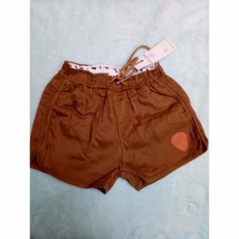 Women's Casual Dolphin Shorts (Khaki)