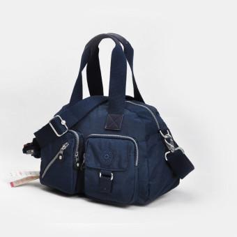 Women's Girl Lady Large Capacity Lightweight Waterproof Nylon DefeaCross Body Bag Shoulder Bags (Royal Blue) - intl - 2