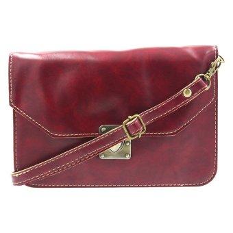 Women's High Toned Sling Bag (Maroon)