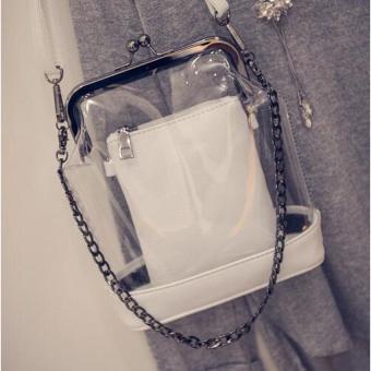 Womens Shoulder Bag - Laurine (White) - intl
