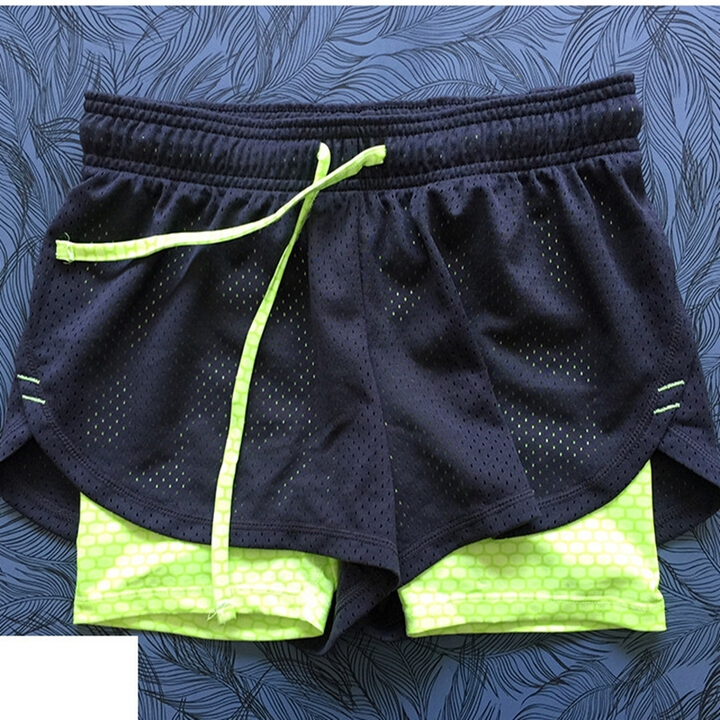 Womens Yoga Running Shorts Ladies Sport