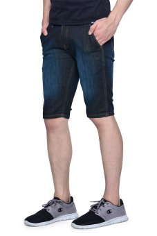 Wrangler Crave Denim Shorts (Broken Blue) - 2