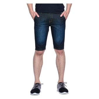 Wrangler Crave Denim Shorts (Broken Blue) - 3