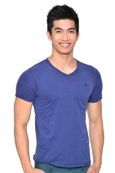 Wrangler Men's V-Neck Undershirt (Ensign Blue) Price Philippines