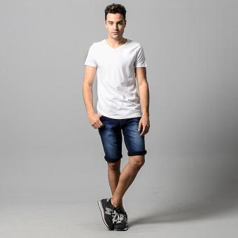 Wrangler Men's Muscle Shirt (White) - Pack of 3 - 4