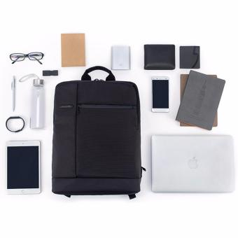 Xiaomi Classic Business Backpack with Large Capacity Laptop Bag (BLACK) - 2