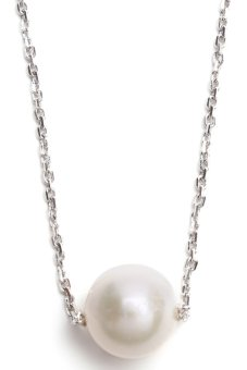 Yassy Pearls FWPChainN30 Necklace (White)