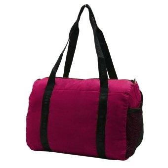 YINJUE Foldable Weekender Bag (Pink)