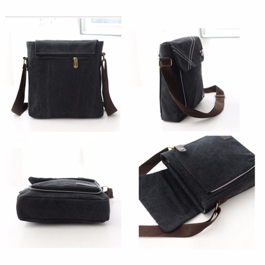 9ad14a69e2 ... YSLMY Sk Mall 068 Korean style Canvas Man Messenger Bags   Sling Bag   Shoulder  Bags ...