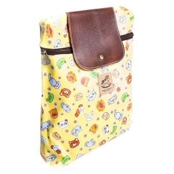 Zakka Bucket Backpack (Yellow)