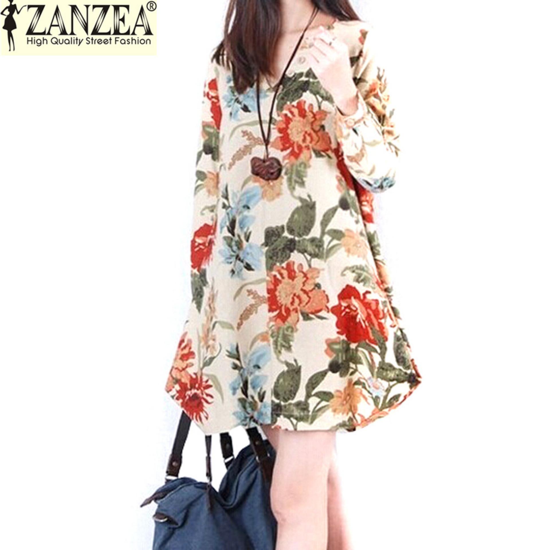Zanzea Philippines: Zanzea price list - Blouse, Dress, Shirt ...