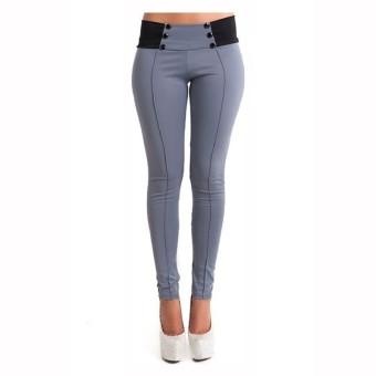 ZANZEA Women Casual Bodycon Long Trouser Pant Leggings - 2