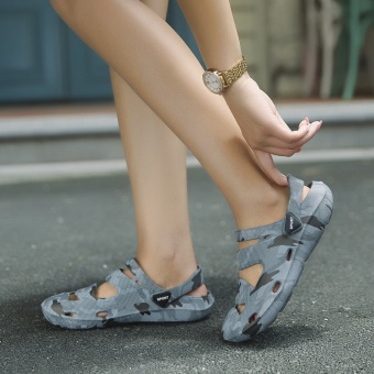 ZNPNXN Couple Sandals Casual Couple Breathable Shoes Comfortable Sandals(Camouflage) - intl - 3