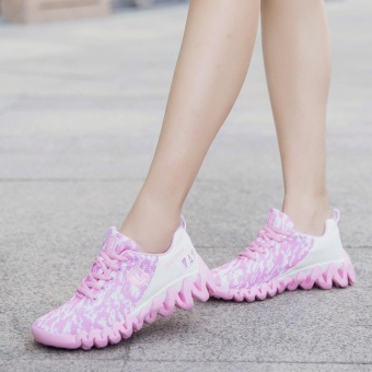 ZNPNXN Women'S Shoes Net Cloth Air Cushion Running Shoes Bradyseism Stylish And Comfortable Gym Shoes Women Shoes (Pink) - intl - 4