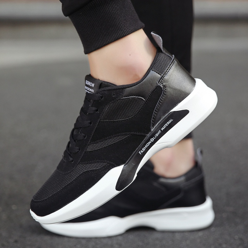 ... ZOQI Sneakers & Athletic Shoes Men's Fashion Sport RunningShoes(Black) - intl ...