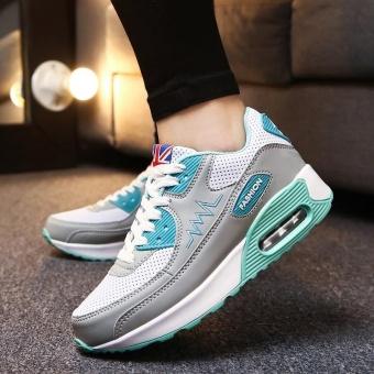 ZORO Women Sneakers Breathable Running Shoes Sport Shoes For Women Outdoor Sneakers Sport Athletic Sneakers Sukan Wanita (Grey) - intl - 4