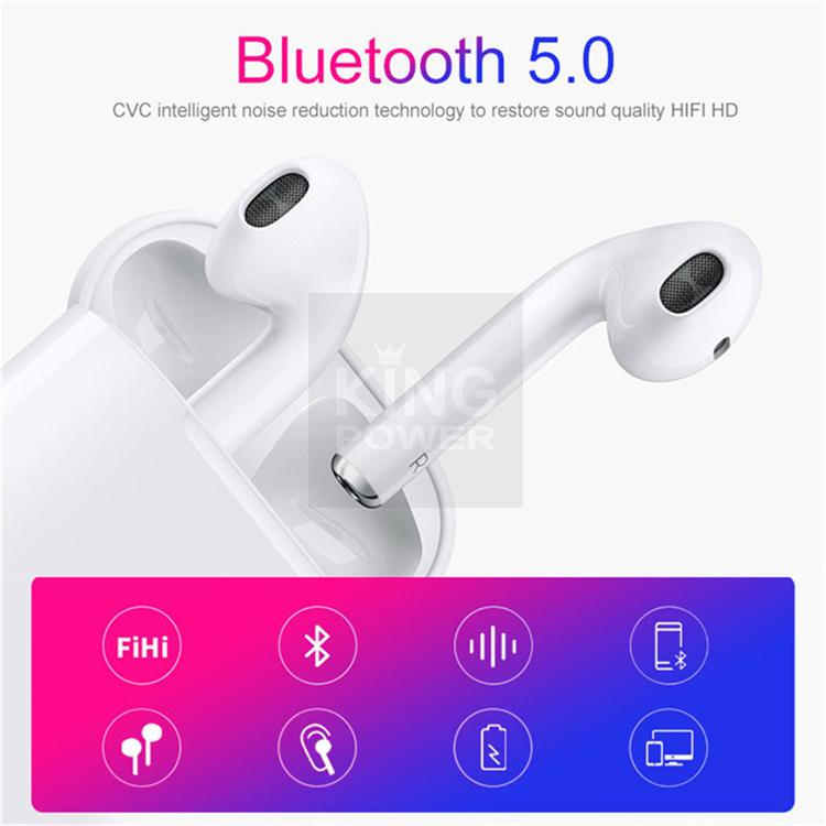 Bluetooth Headset Wireless Earbuds Touch Control Sport Music Gym Earphones  Original i12 TWS Noise Cancelling Game Hi-Fi Stereo Running Earbuds with