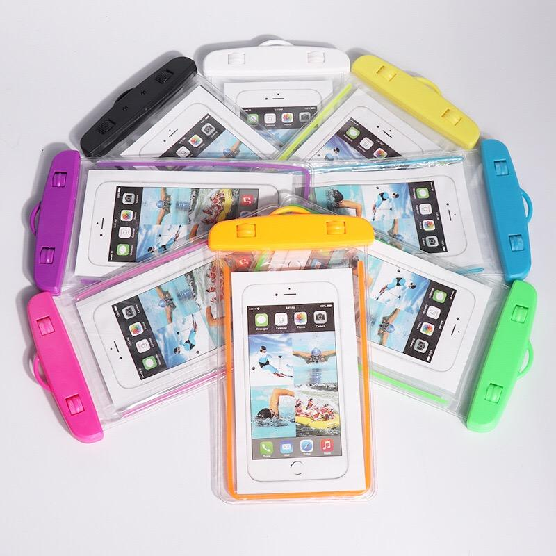 detailed look 14df3 11bcd MJ LUCKY HALL Universal Waterproof Phone Case Phone Pouch Dry Bag