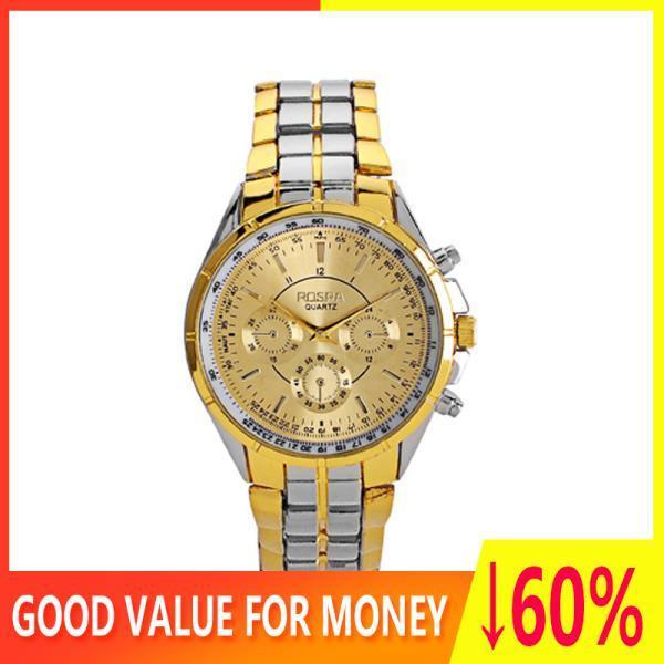 Discount Promotion Panoorin Imported Quality 2019 New 100 Authentic Men S Watch Waterproof Sports Fashion Three Eye Steel Belt Alloy Quartz Watch
