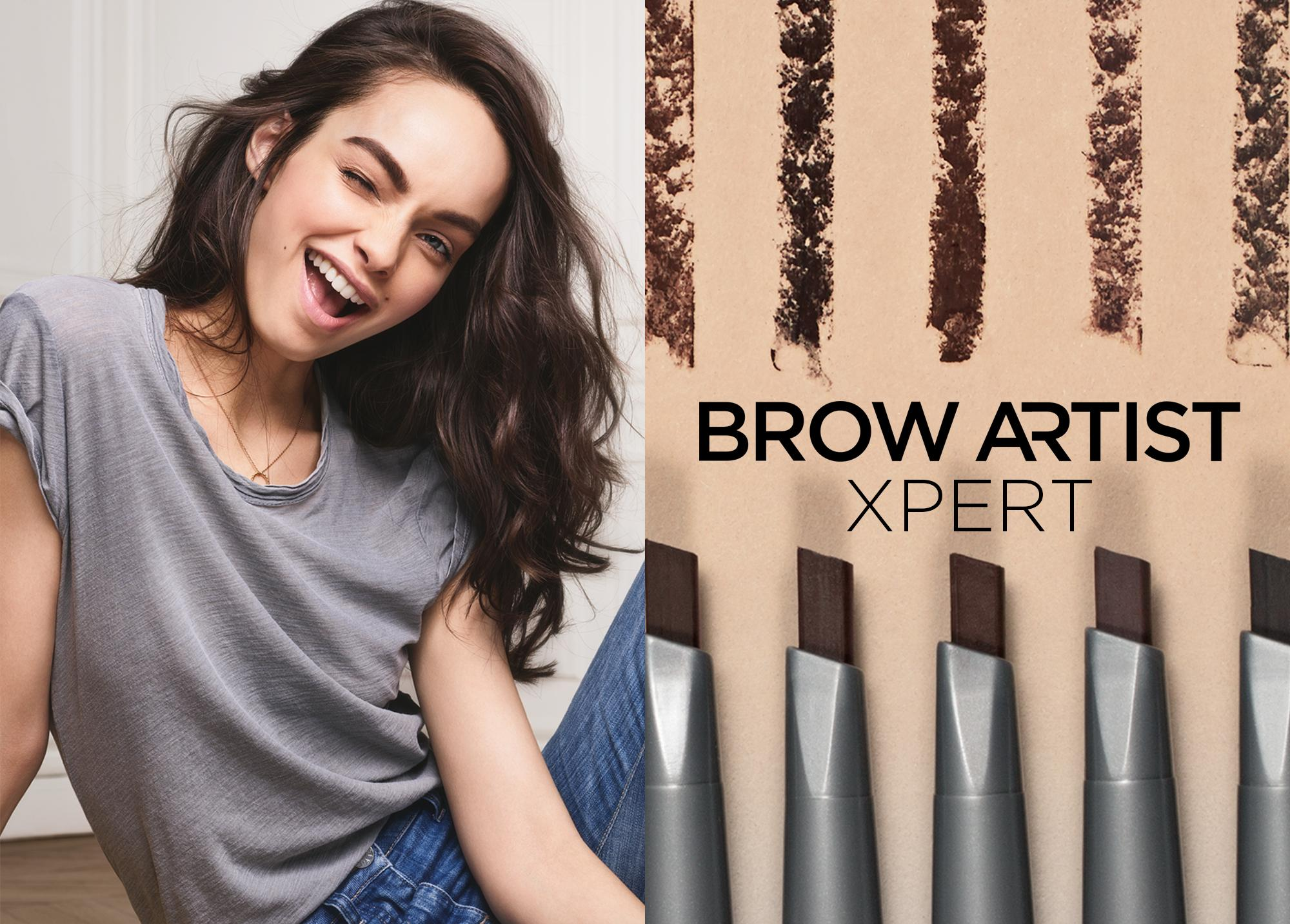 Brow Artist Xpert 2 In 1 Brow Pencil 105 Brunette By L Oreal Paris Brow Artist