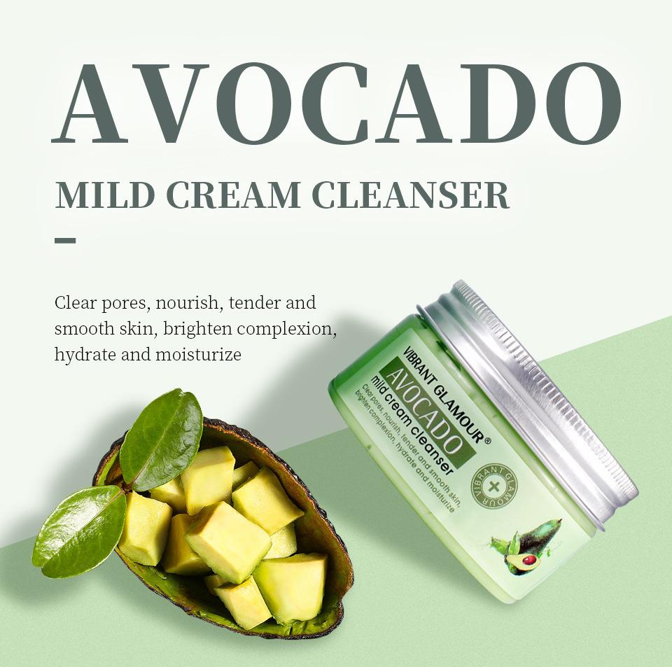 VIBRANT GLAMOUR avocado mild cream cleanser | Lazada PH