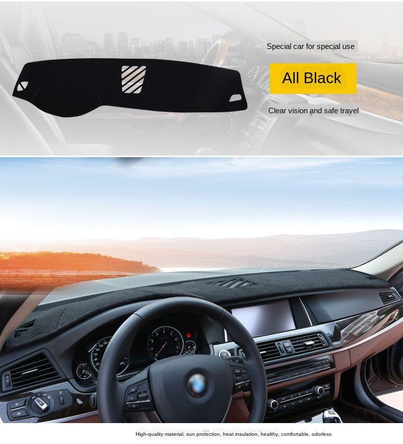 Heat Insulation Anti UV Sun Shade N//A Car Dashboard Cover Pad Non-Slip Mat for Suzuki Vitara 4th 2015 2016 2017 2018 2019 Instrument Protective Dash Carpet